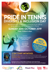 Pride in Tennis Traralgon 2019_A4_Poster_v1